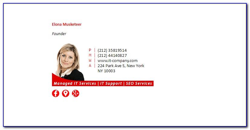 Html Email Signature Generator Free