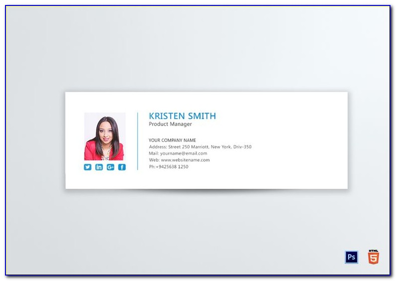 Html Email Signature Templates Mac