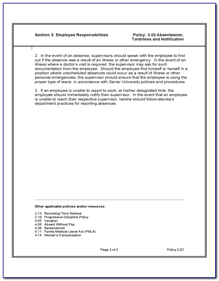 Human Resources Service Level Agreement Sample