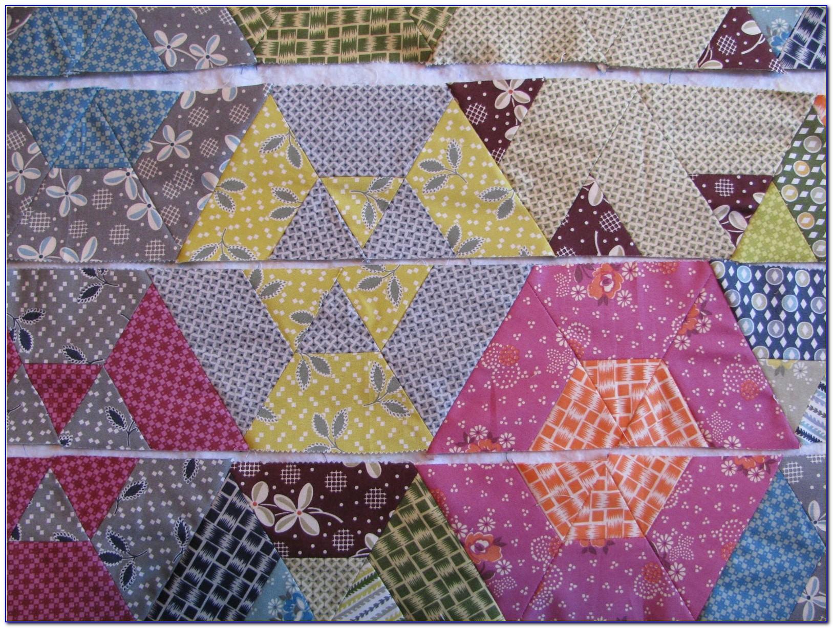 I Spy Hexagon Quilt Patterns Free