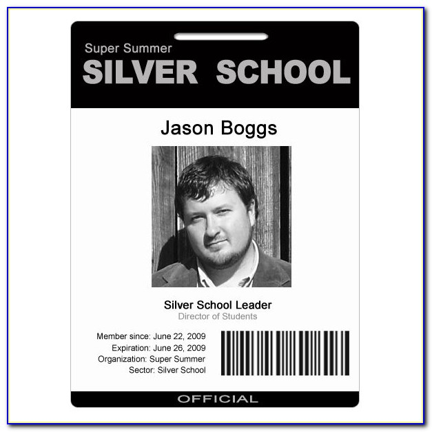 Id Badges Template Photoshop