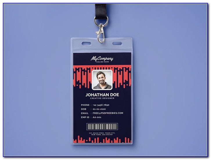 Id Badges Templates For Microsoft Word
