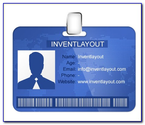Id Card Design Template Photoshop