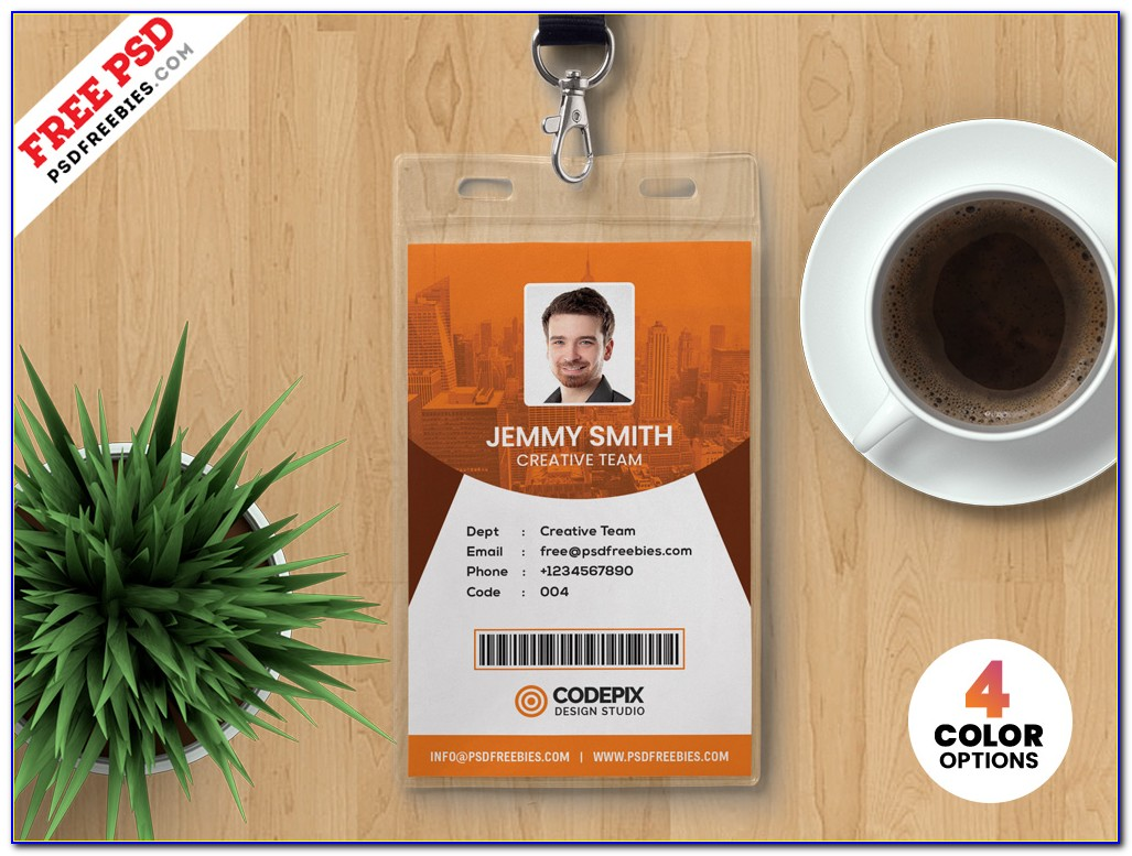 Id Card Size Template Photoshop