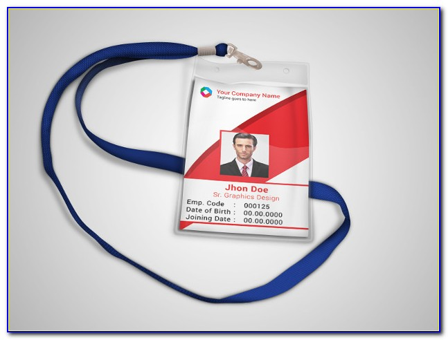 Id Card Template Photoshop Free Download