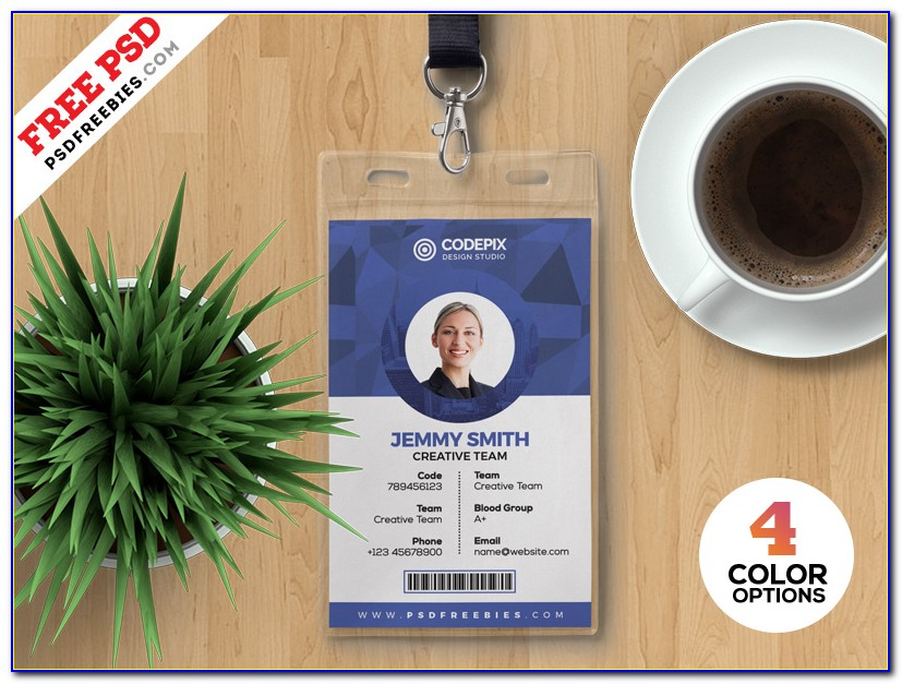 Id Card Template Uk