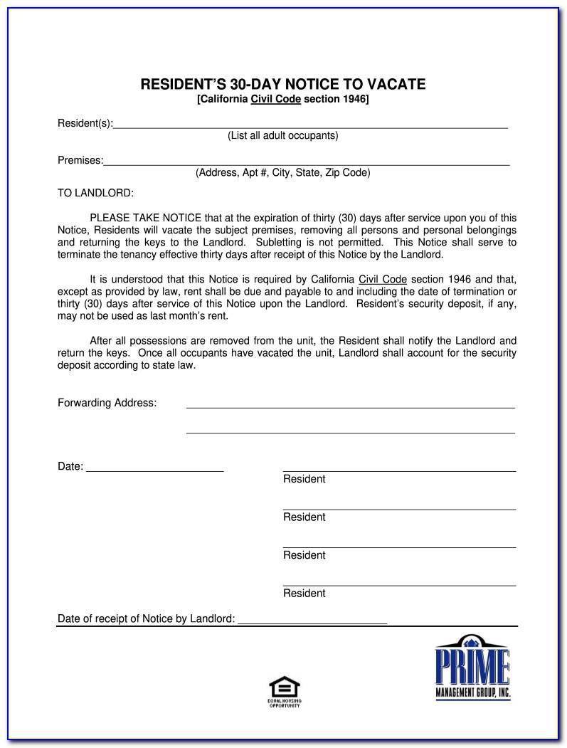 Illinois 30 Day Eviction Notice Pdf