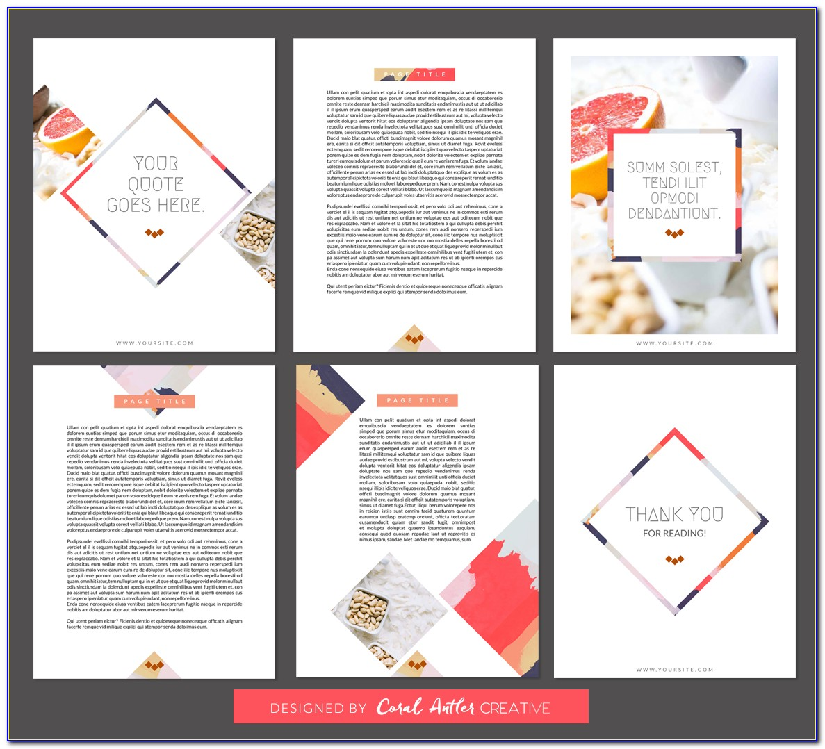 Indesign A4 Magazine Template Free Download