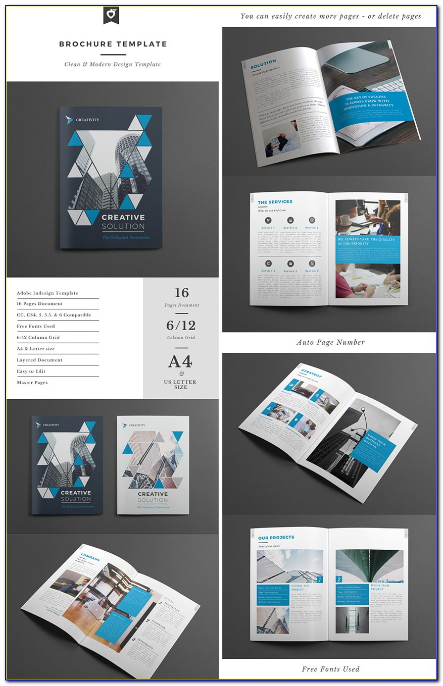 Indesign Catalog Template Free Download
