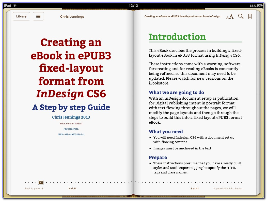 Indesign Cs6 Ebook Template