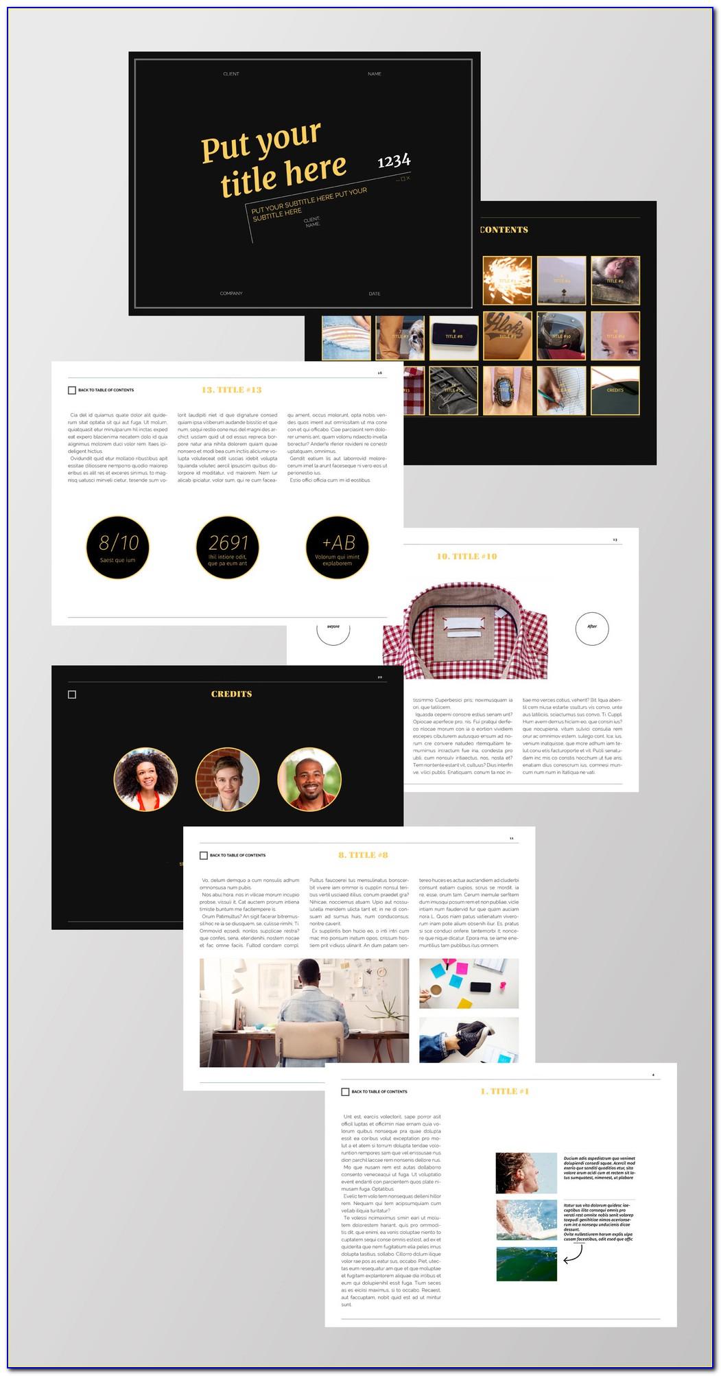 Indesign Digital Magazine Templates
