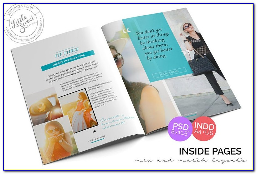 Indesign Magazine Templates Free Download