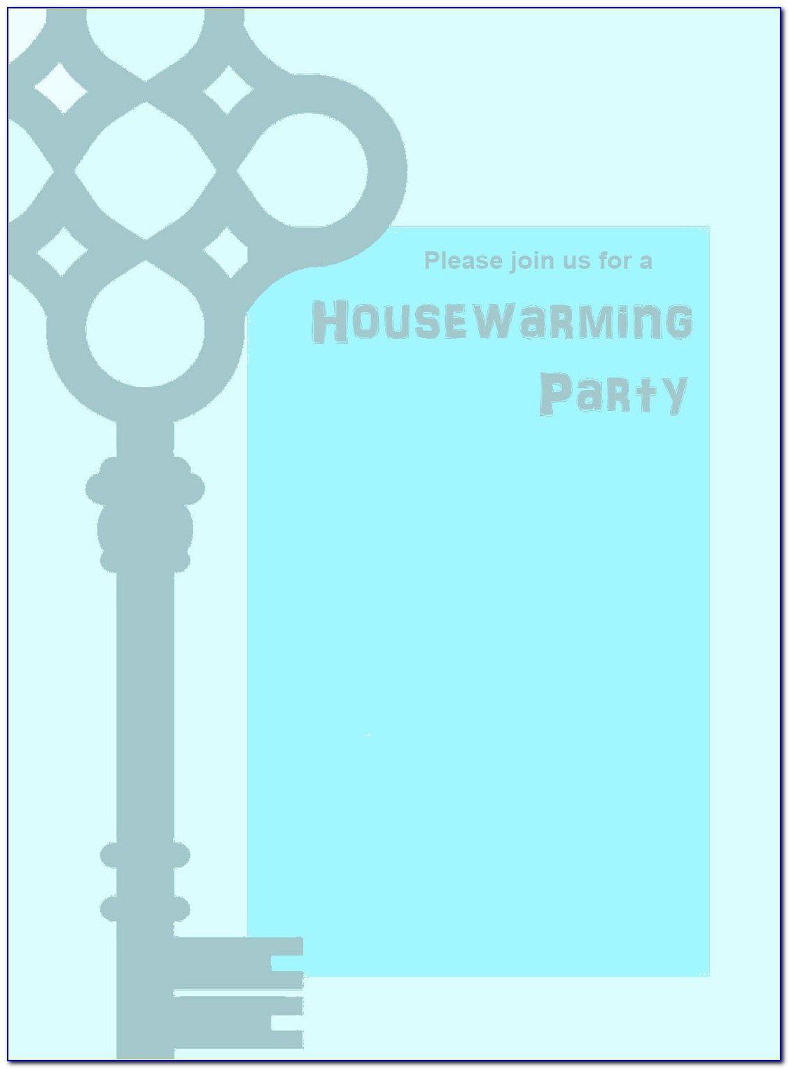 Indian Housewarming Invitation Template Free