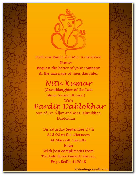 Indian Housewarming Invitation Templates Free