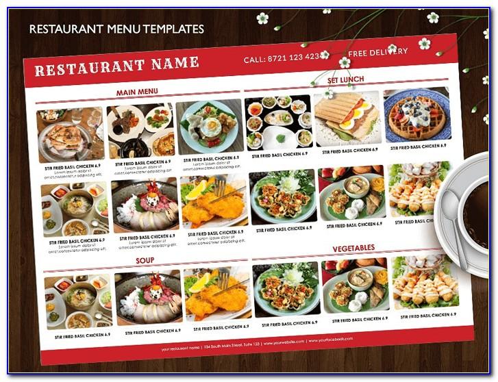 Indian Restaurant Menu Samples