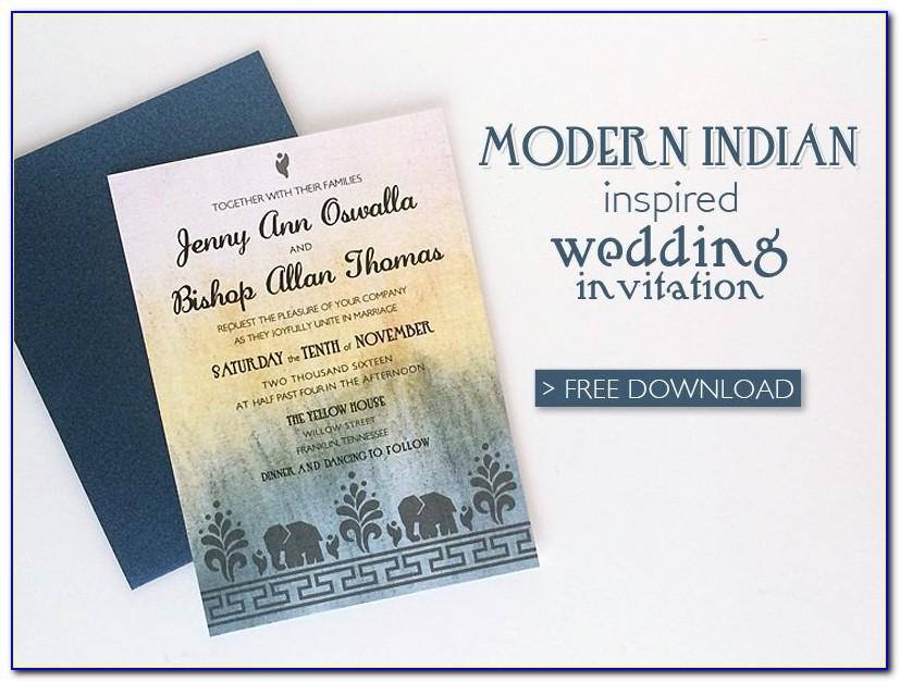 Indian Wedding Invitation Maker Free Online