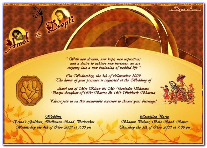 Indian Wedding Invitation Online Maker