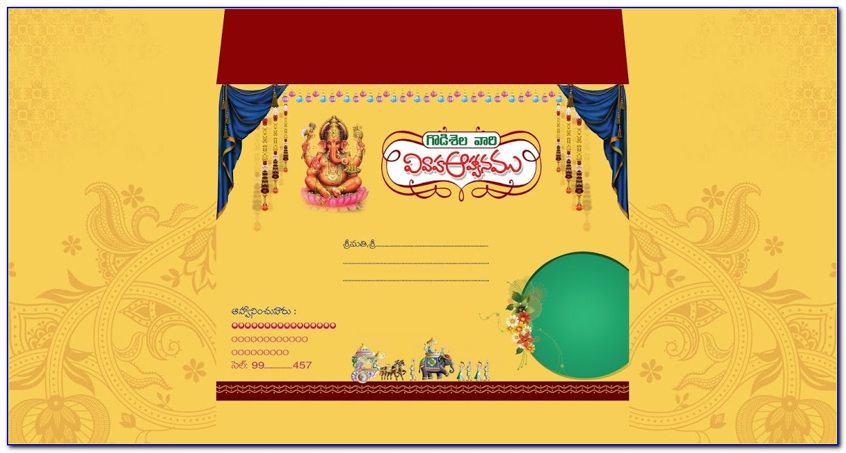 Indian Wedding Invitation Video Templates Free Download