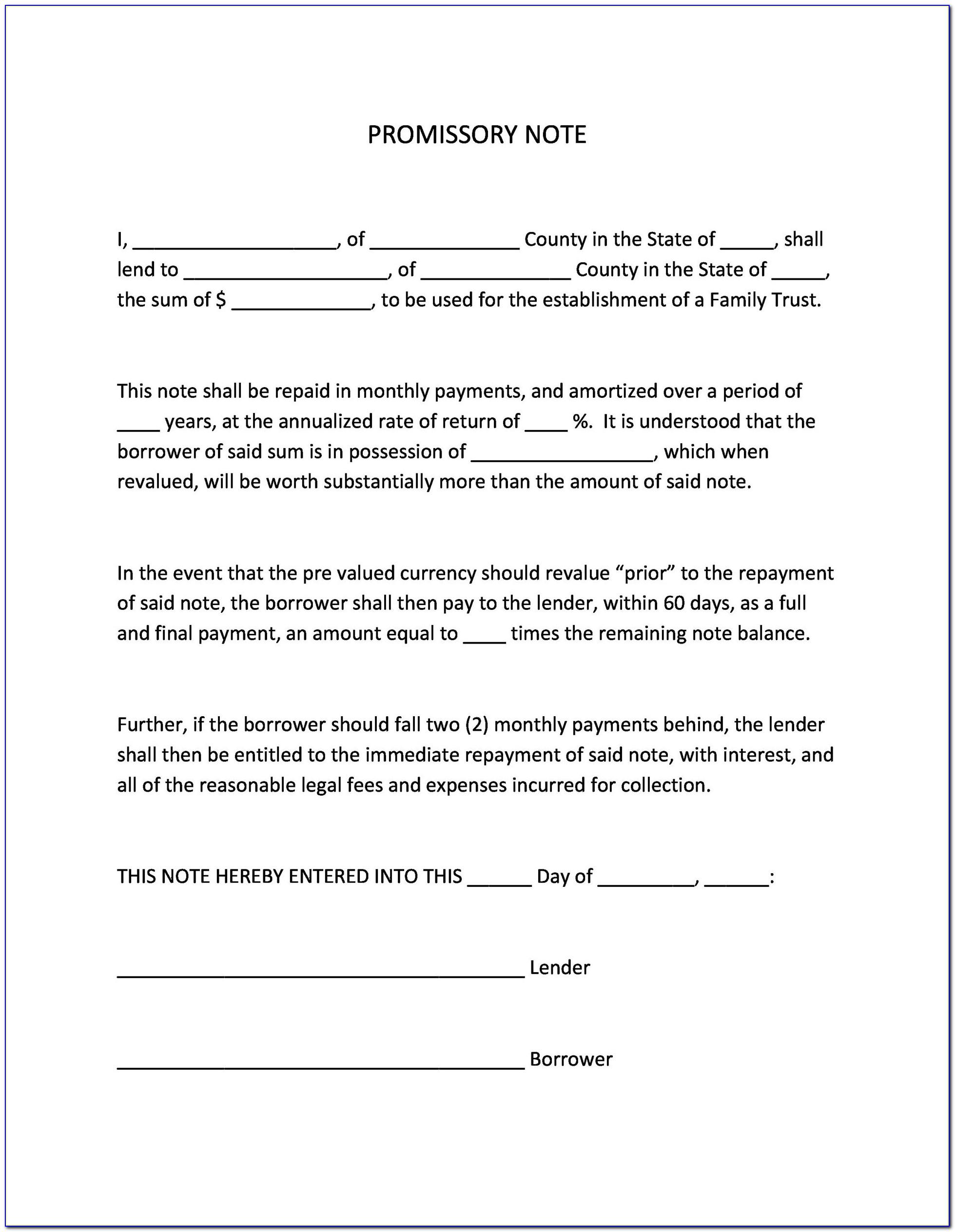 Installment Sale Contract Form