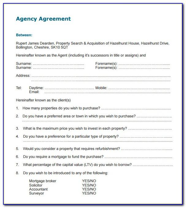 Insurance Broker Service Agreement Template
