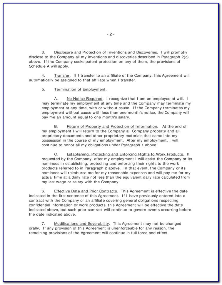 Intellectual Property Agreement Template Australia