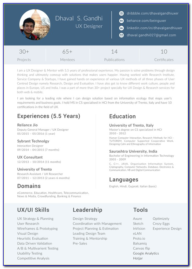 Interior Design Entry Level Resume Samples