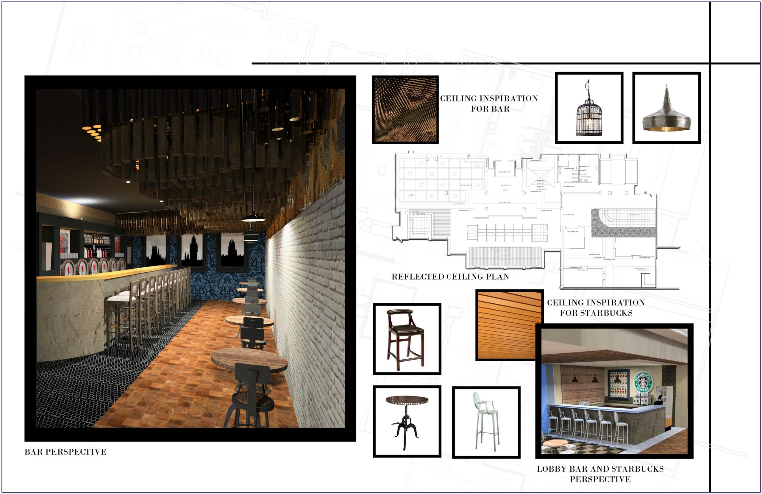 Interior Design Portfolio Templates Free