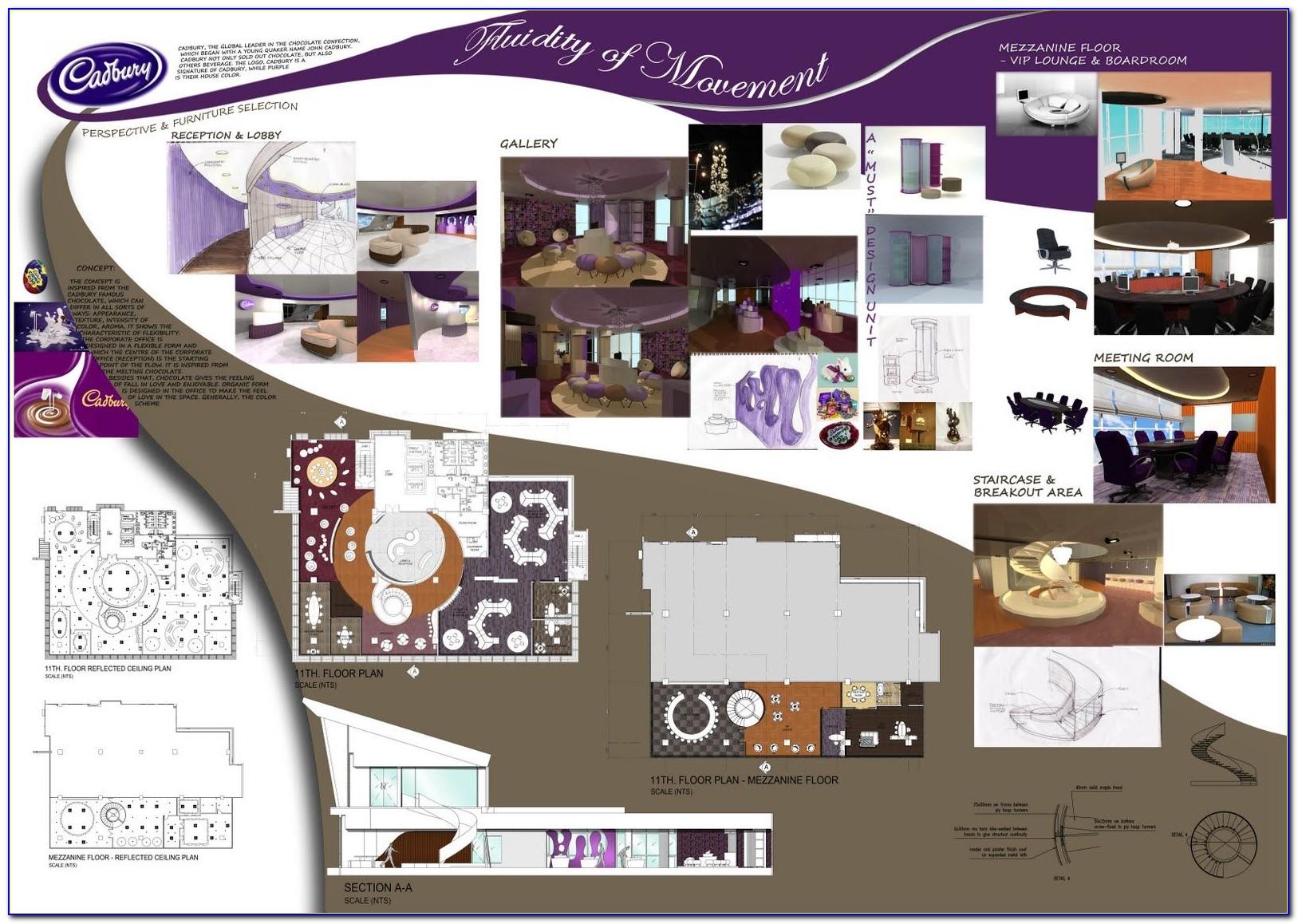 Interior Design Presentation Templates Free