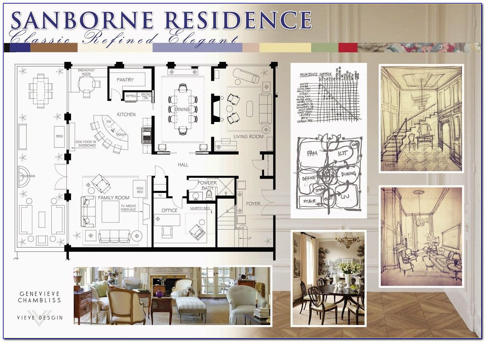 Interior Design Print Portfolio Templates