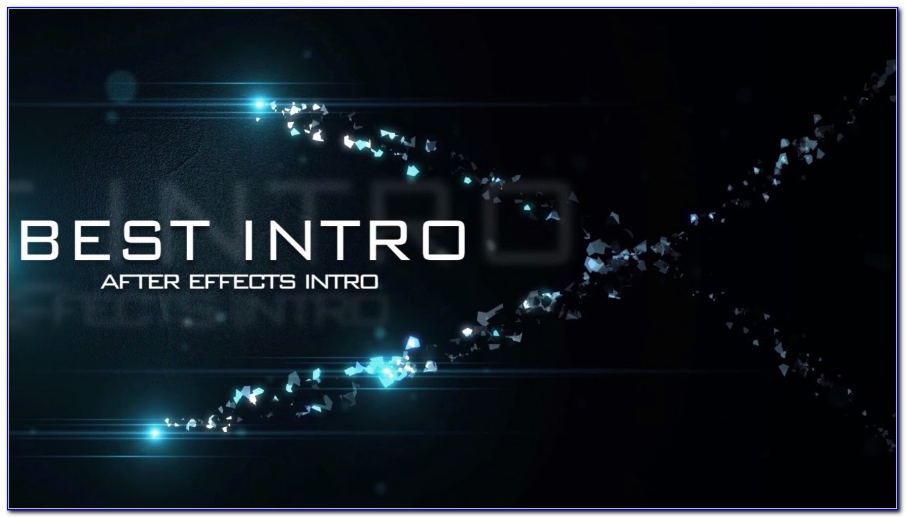 Intro Templates Adobe After Effects Cc
