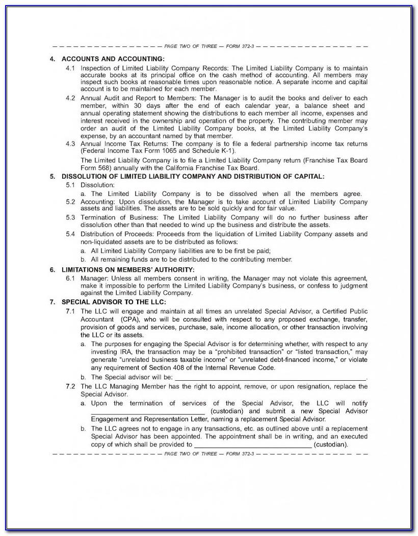 Investment Advisor Agreement Template