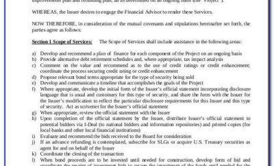 Investment Advisory Agreement Template Uk