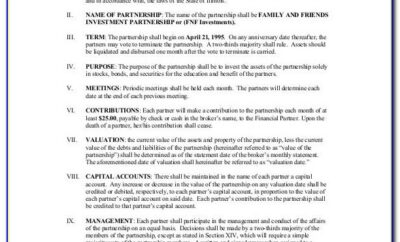 Investment Contract Agreement Sample