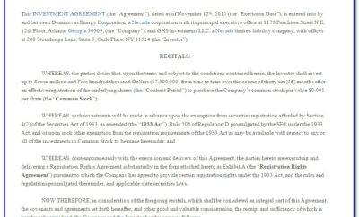 Investment Management Agreement Template Uk
