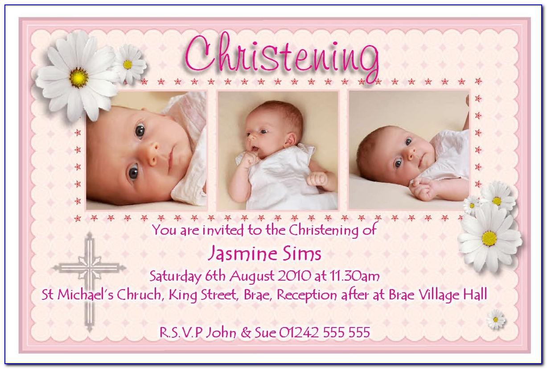 Invitation Envelope Printing Template
