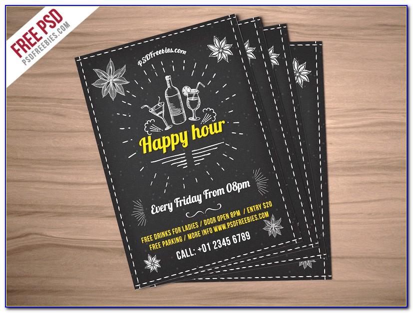 Invitation Flyer Templates Free Psd