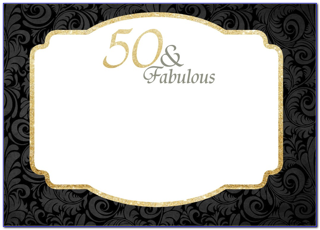 Invitation Templates For 70th Birthday