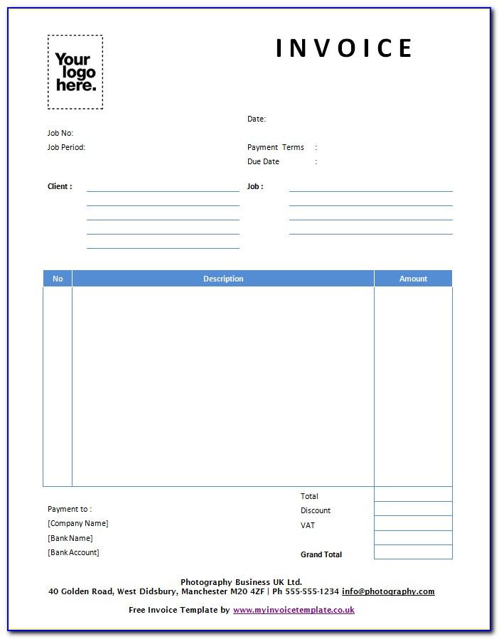Invoice Example Word Doc
