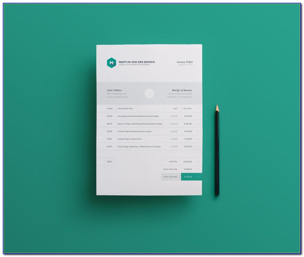 Invoice Sample Download Free