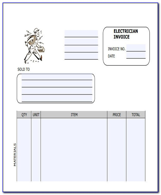Invoice Template For Excel 2007