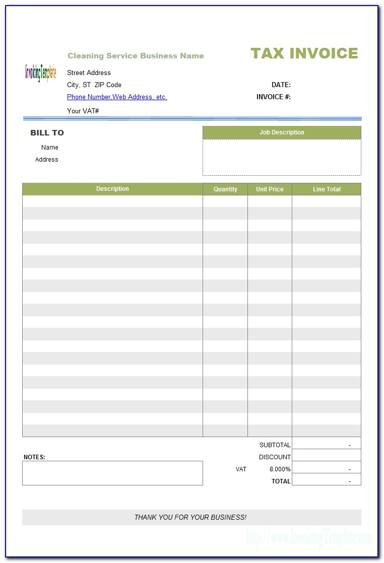 Invoice Template For Macbook Air