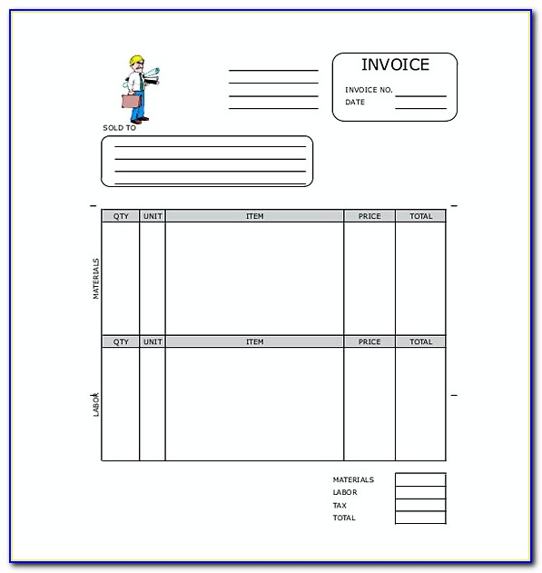 Invoice Template Open Office Writer