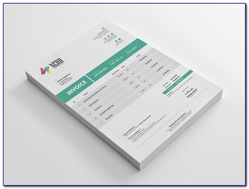 Invoice Templates Download Free