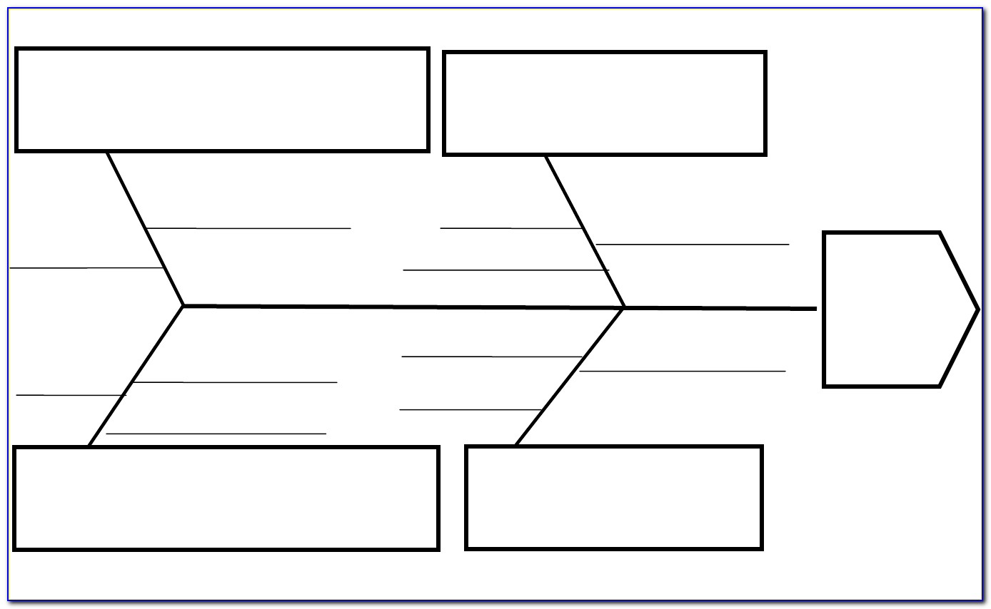 Ishikawa Diagram Template Doc