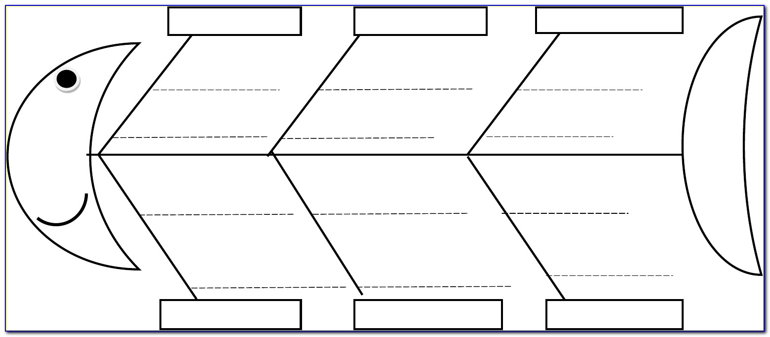 Ishikawa Diagram Template Download