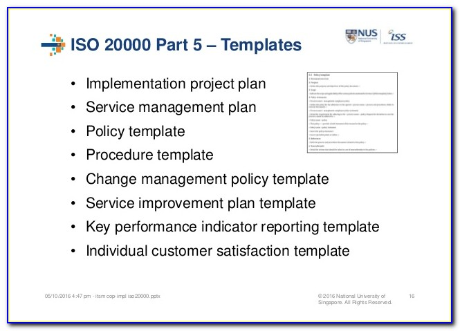 Iso 9001 Example Procedures