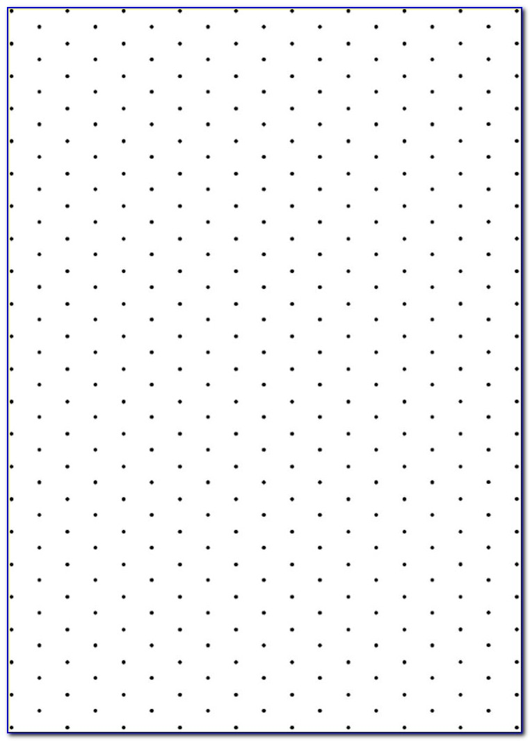 Isometric Dot Grid Paper Pdf