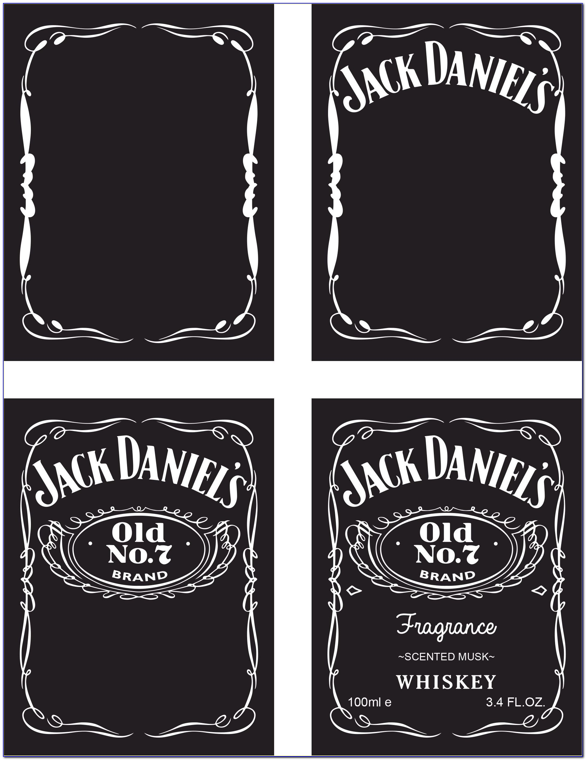 Jack Daniels Invitation Template Free