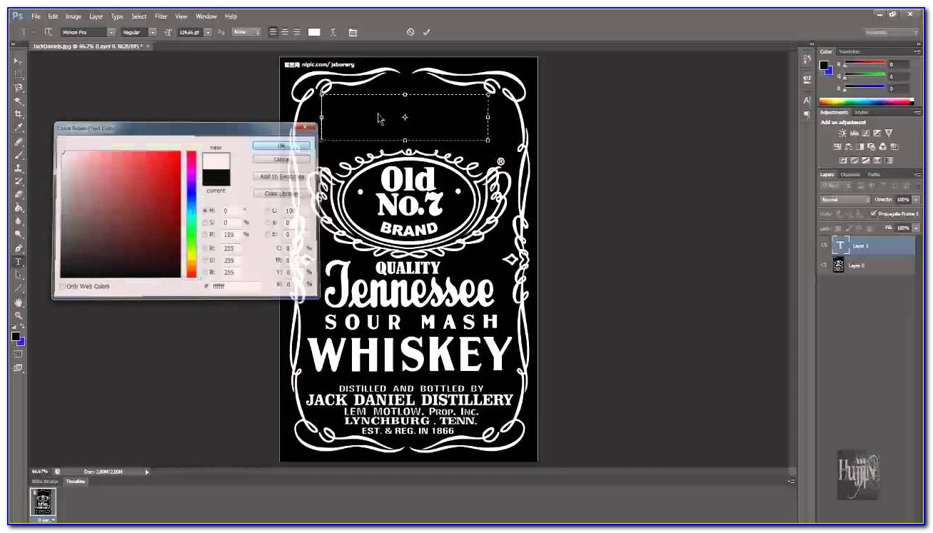 Jack Daniels Label Template Download