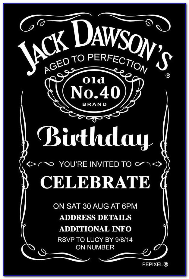 Jack Daniels Logo Template Psd
